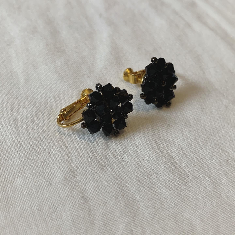 vintage beads earring
