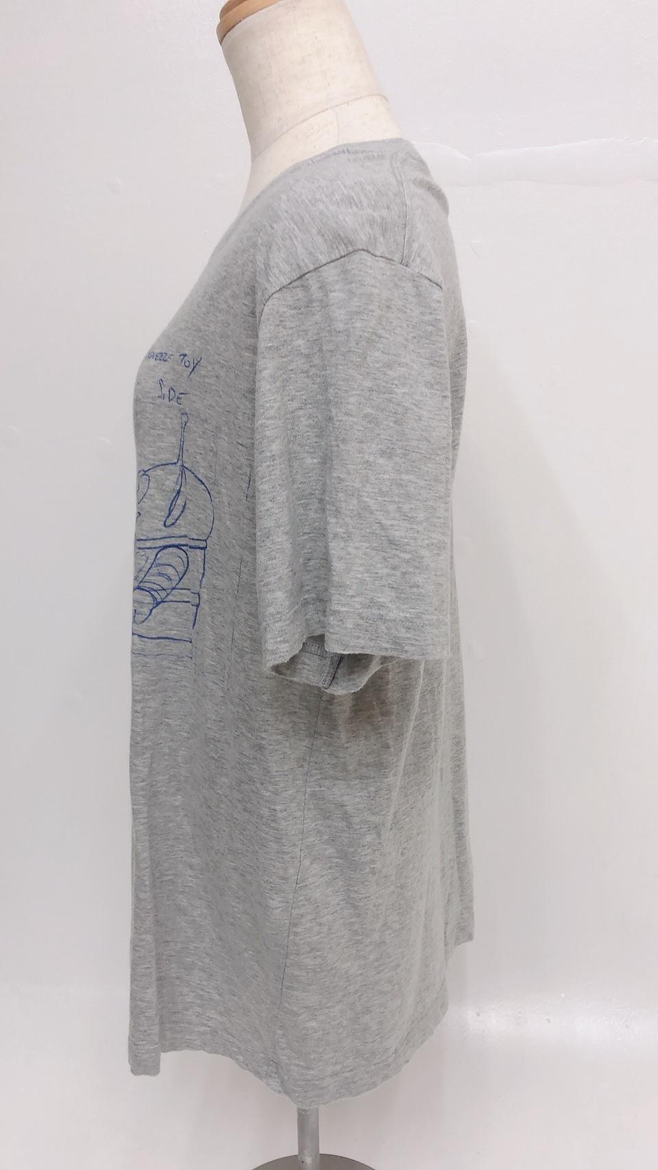 【古着】ユニクロ リトルグリーンメンTシャツ
