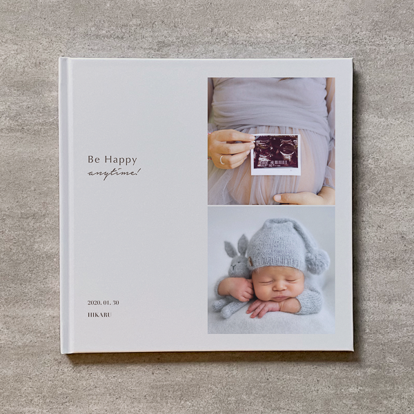 Be Happy(Vertical 2cut-BE)-MATERNITY_A4スクエア_10ページ/16カット_フォトブック