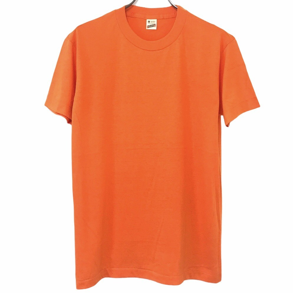 Dead Stock! 80's SCREEN STARS T-shirt made in USA Orange