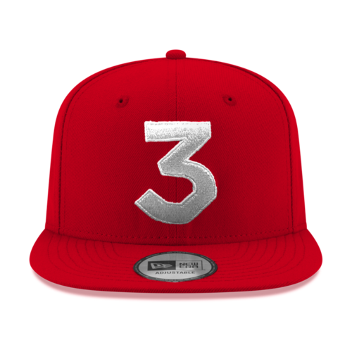 Chance 3 New Era Cap (REDxSILVER)