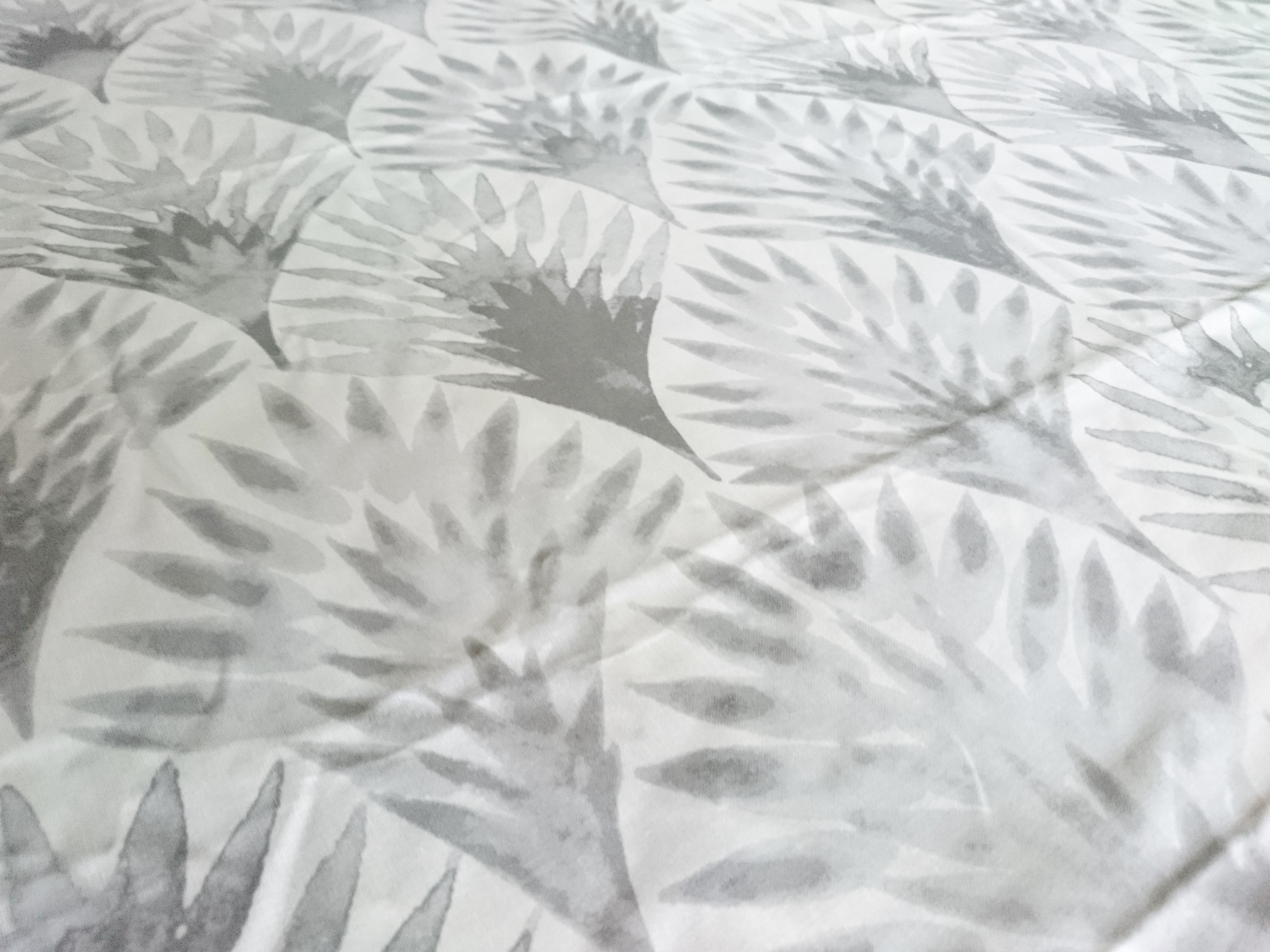 テキスタイル / anno / Botanical コットン(グレー)(1m)