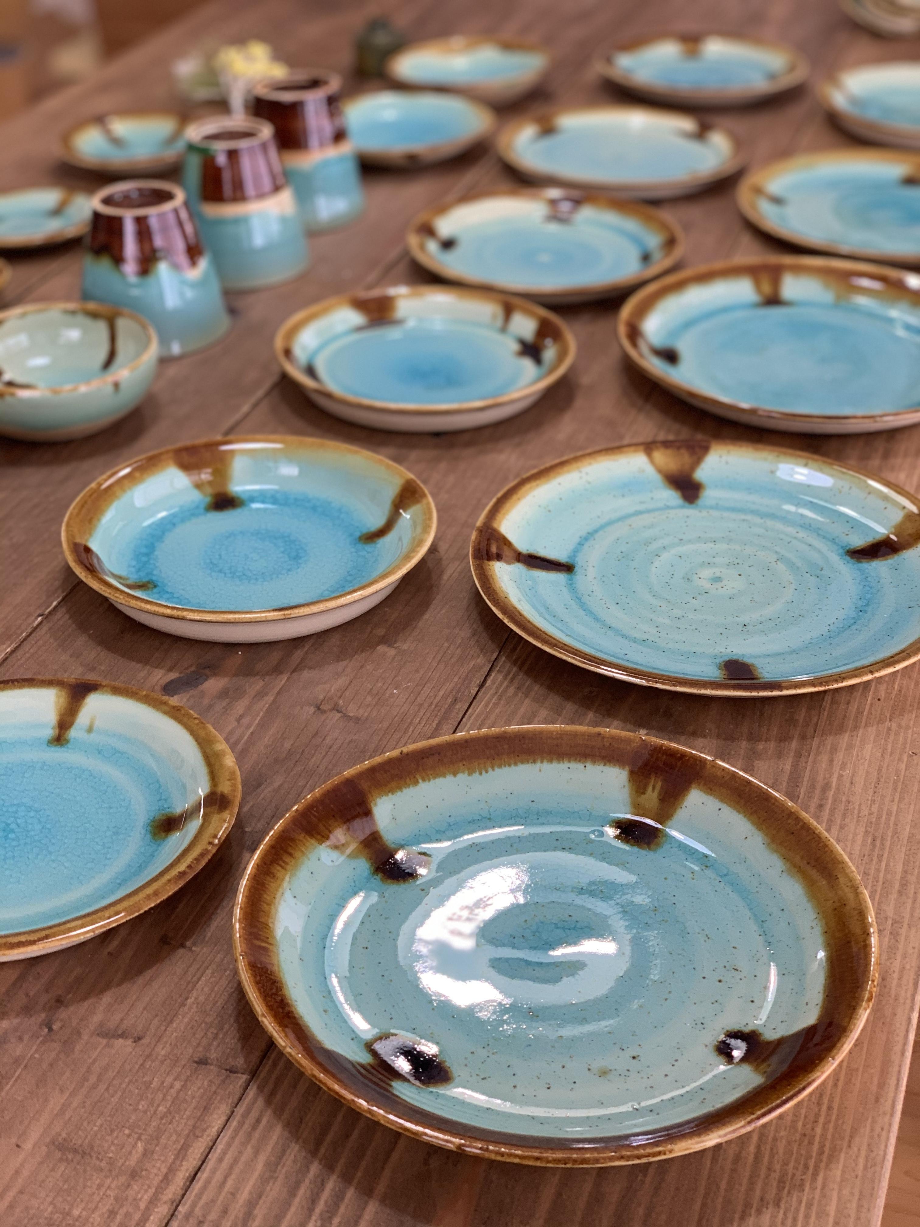 『Al mare アルマーレ』43 Pottery オリジナル20cmリムアップ