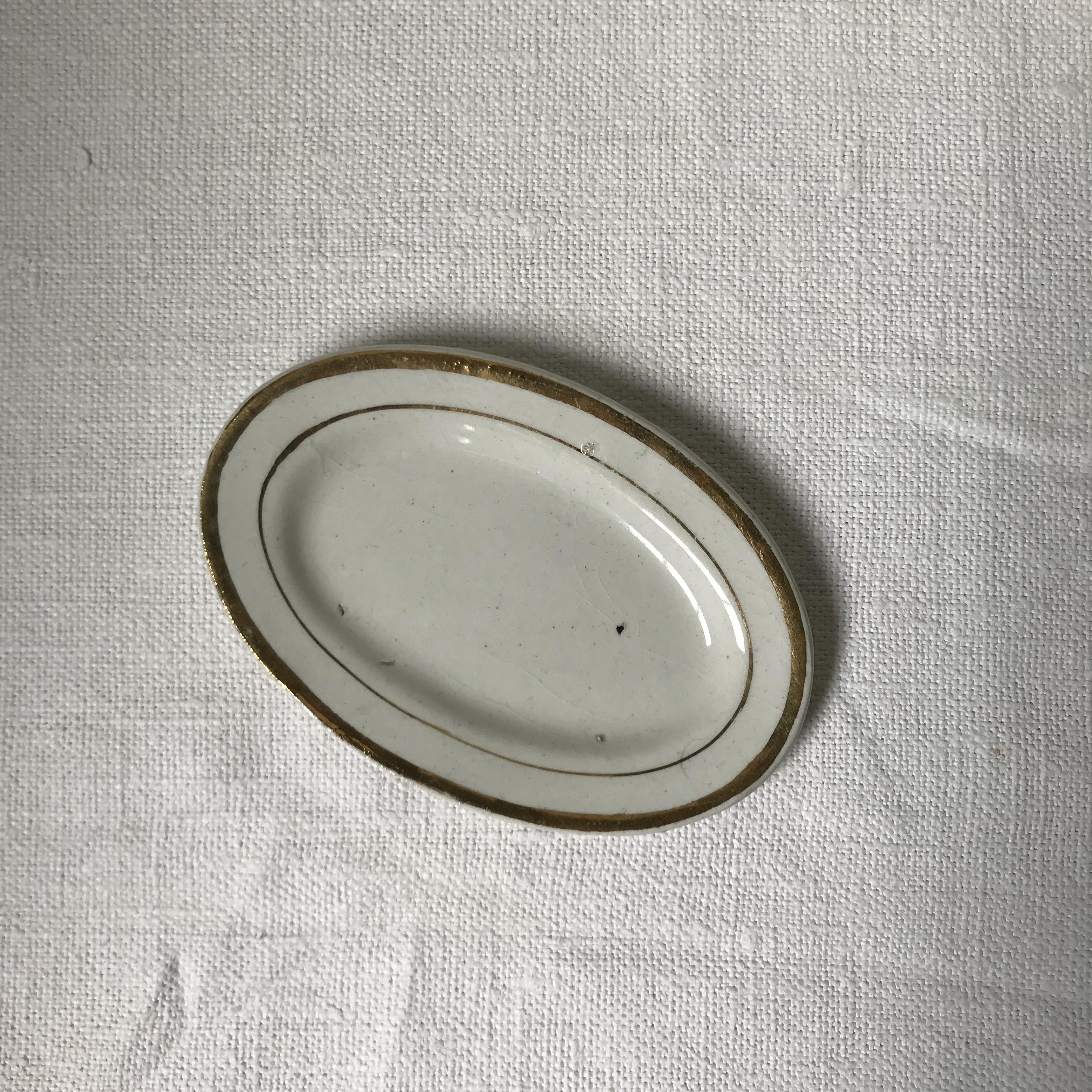 おままごとのお皿オーバル11cm