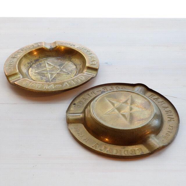 真鍮の小さめの灰皿/アクセサリー置き⁈