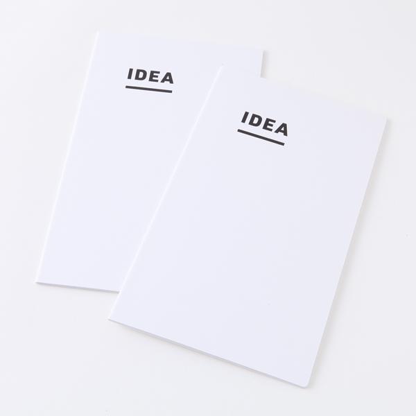 ジブン手帳用 IDEA (2冊パック) 3mm方眼 トモエリバー 52g/m2 ホワイト