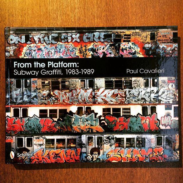 グラフィティアートの本「From the Platform: Subway Graffiti, 1983-1989」 - 画像1