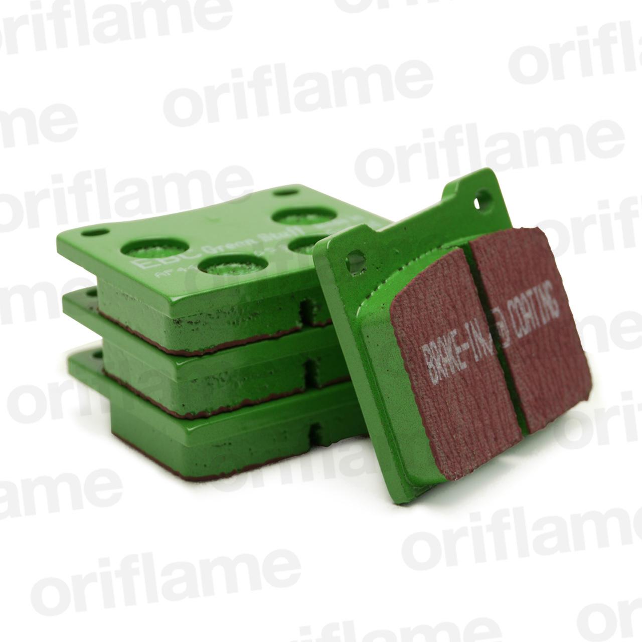 ロータス・ヨーロッパ・フロントブレーキパッド・EBC製・グリーン