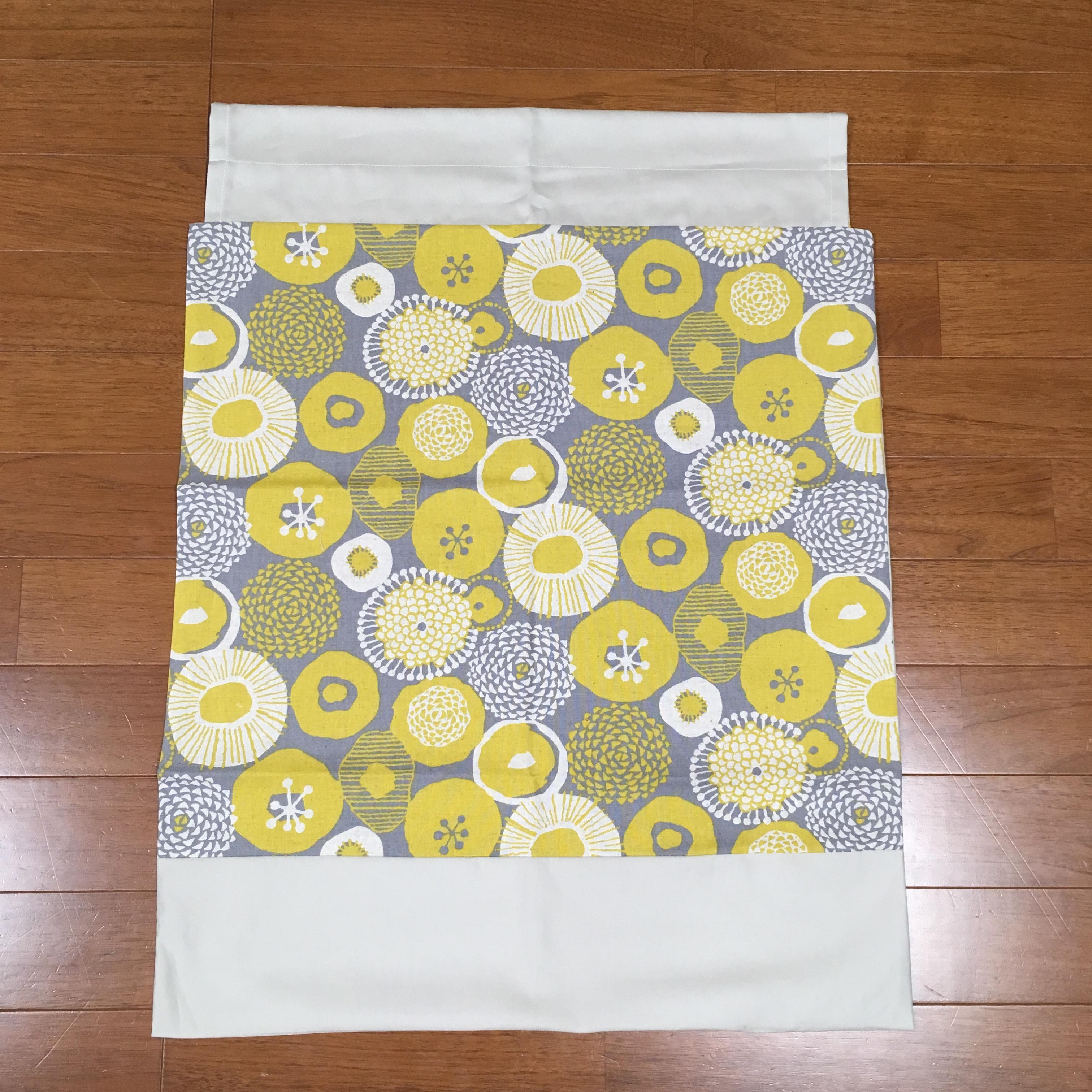 MOKKO wrap/グレー黄色北欧