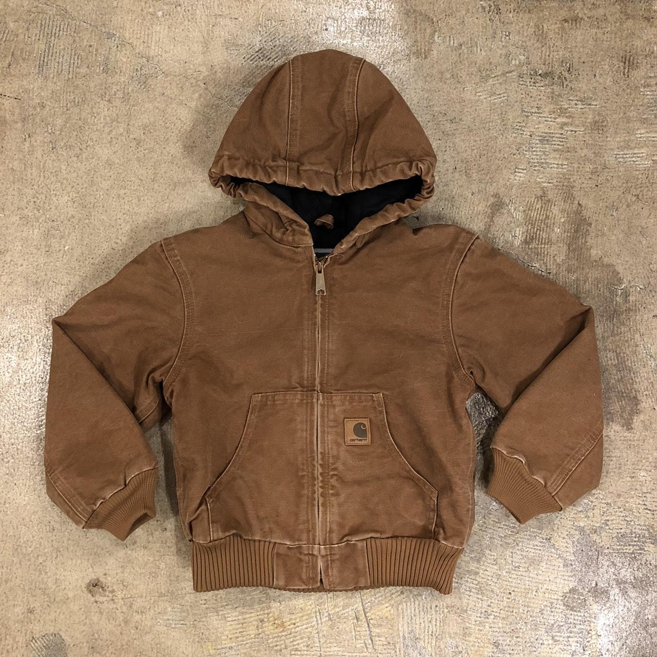 CARHARTT #Kids Duck Active Jacket Brown