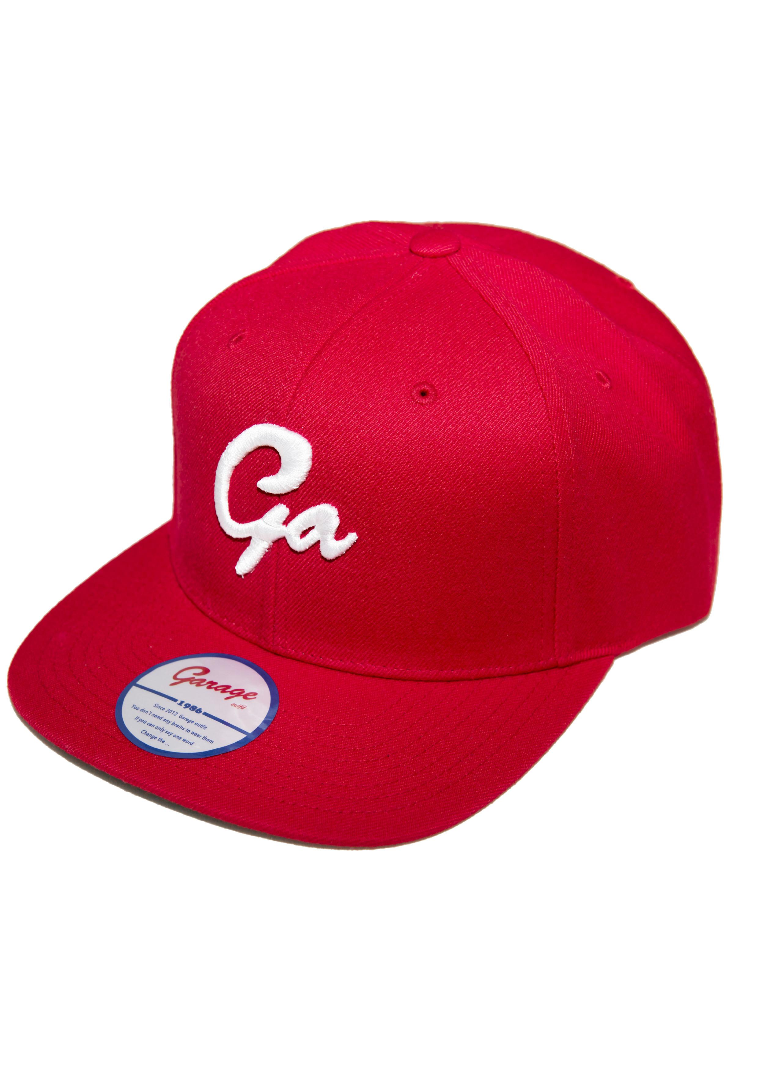 Ga cap Red