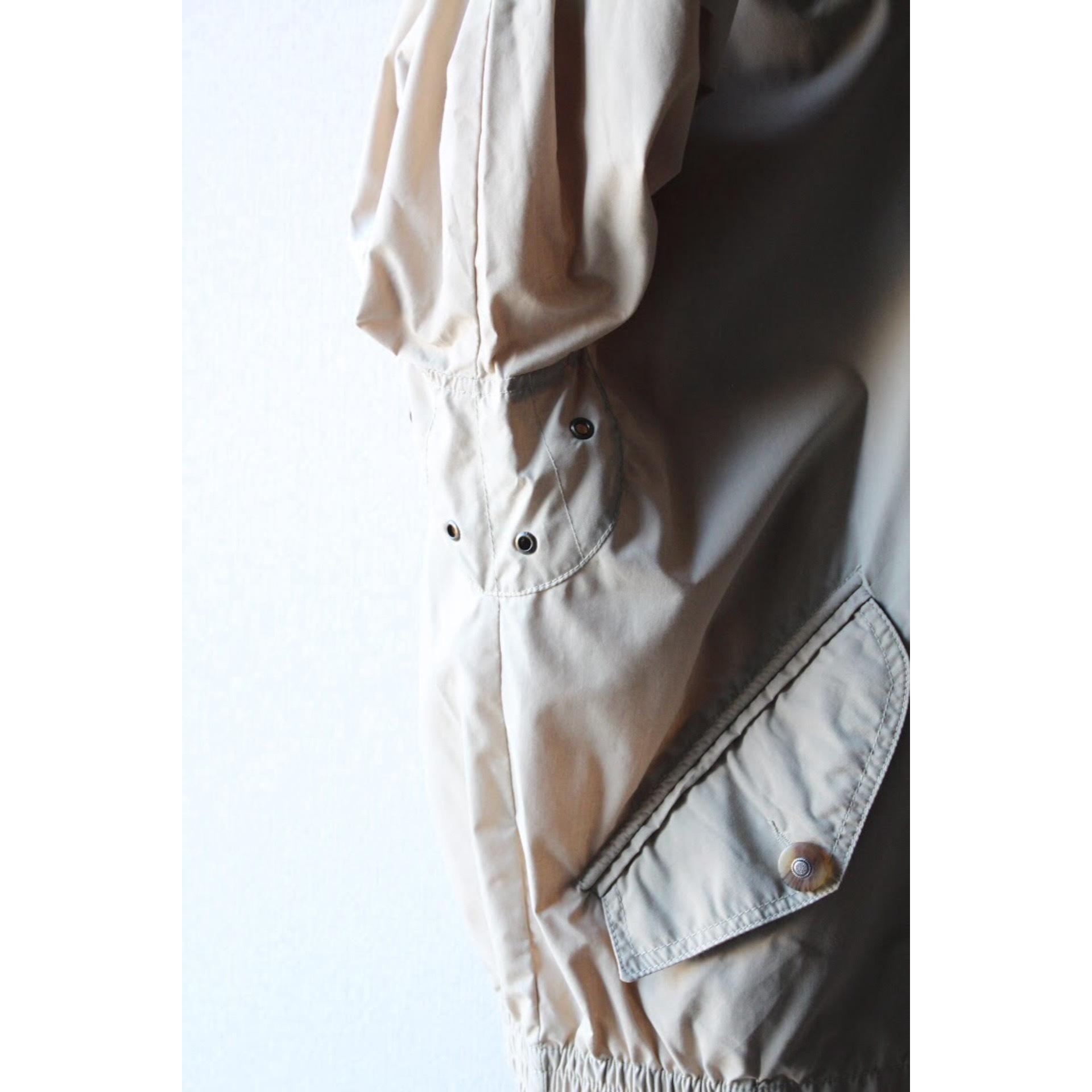 Vintage leather collar blouson