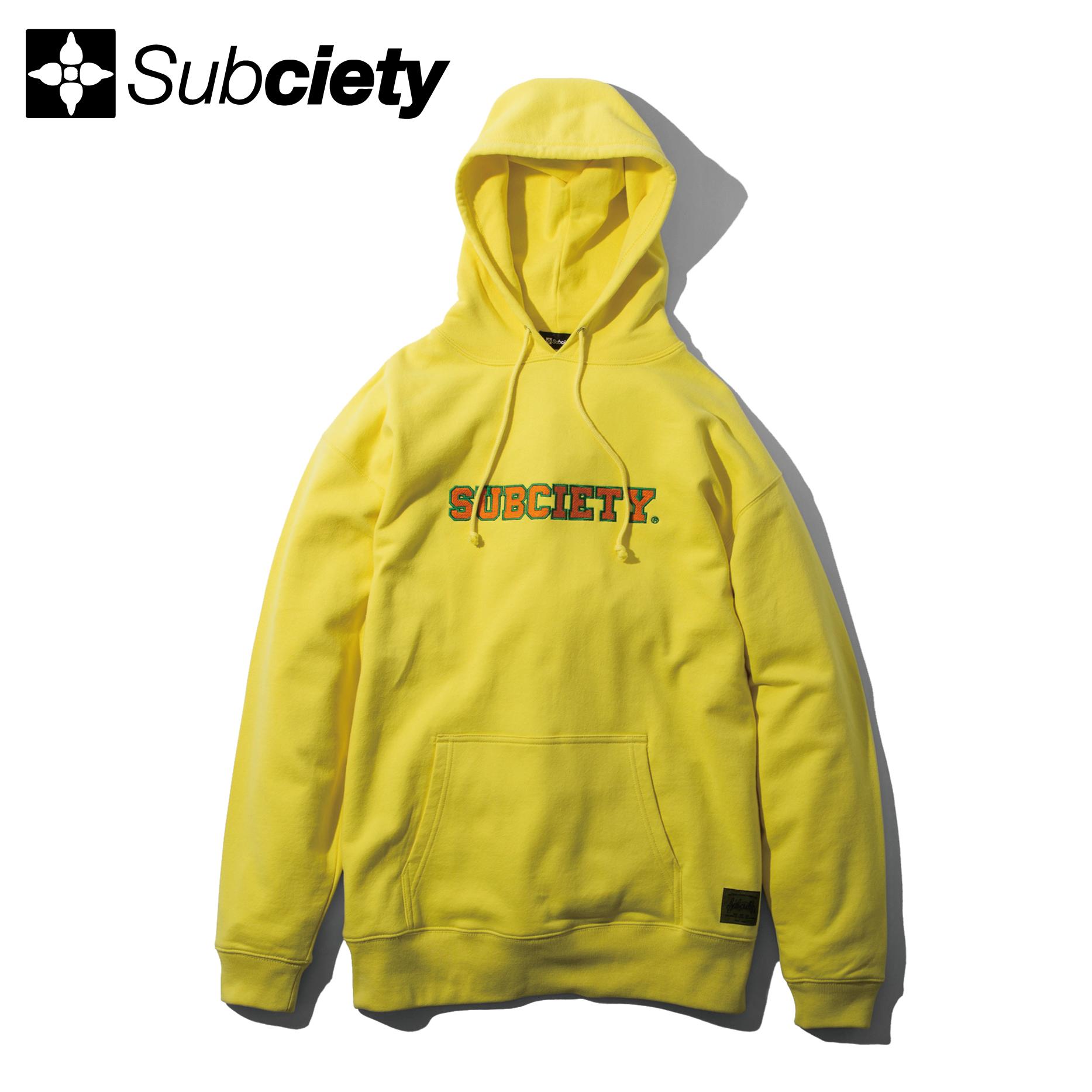 【送料無料】Subciety(サブサエティ) | ACADEMIC PARKA (Yellow)