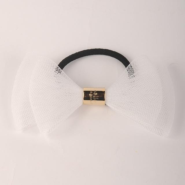 joe14AW-L11 mesh tape ribbon gom B (white)