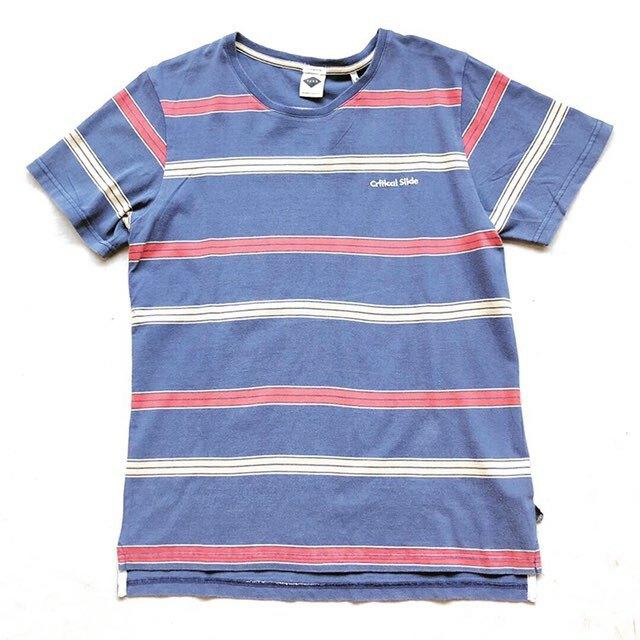 TCSS ティーシーエスエス HIGHER GROUND Tシャツ レトロボーダーTシャツ 半袖 TE1811