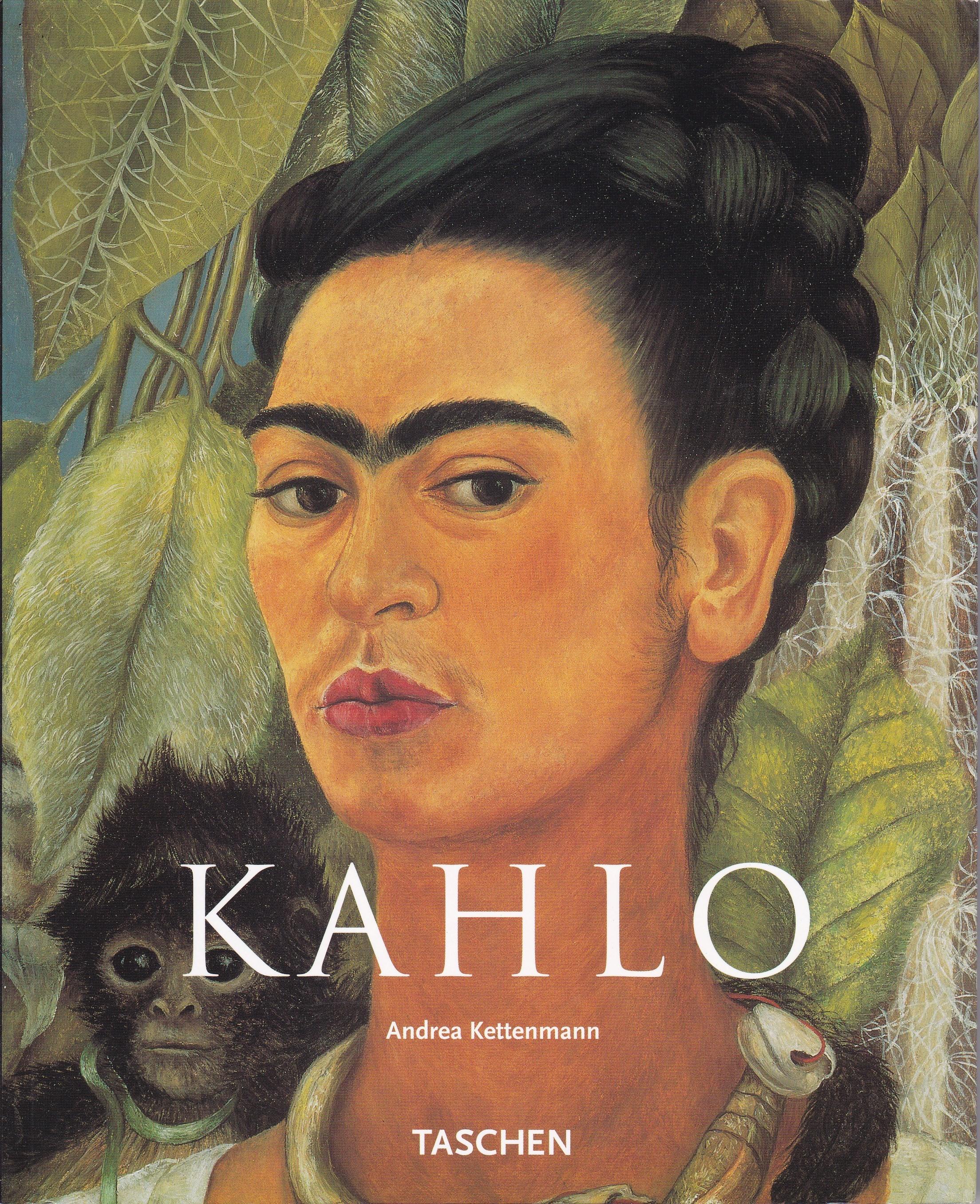 ドイツ語版 TASCHEN「KAHLO」Andrea Kettenmann