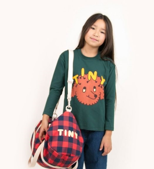 "TINYCOTTONS タイニーコットンズ ""TINY DOG"" TEE size:4Y(100-110)"