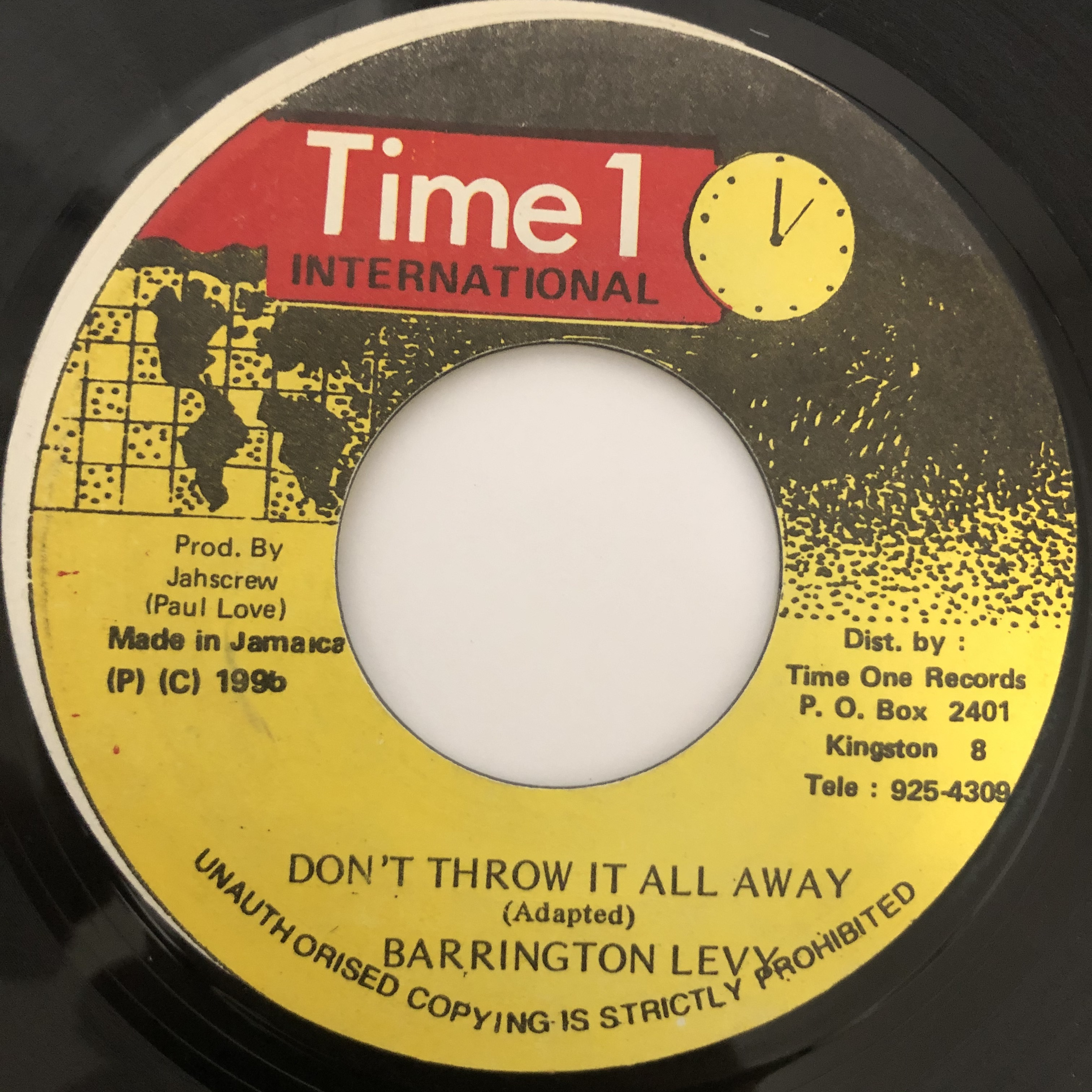 Barrington Levy - Don´t throw it all away【7-20390】