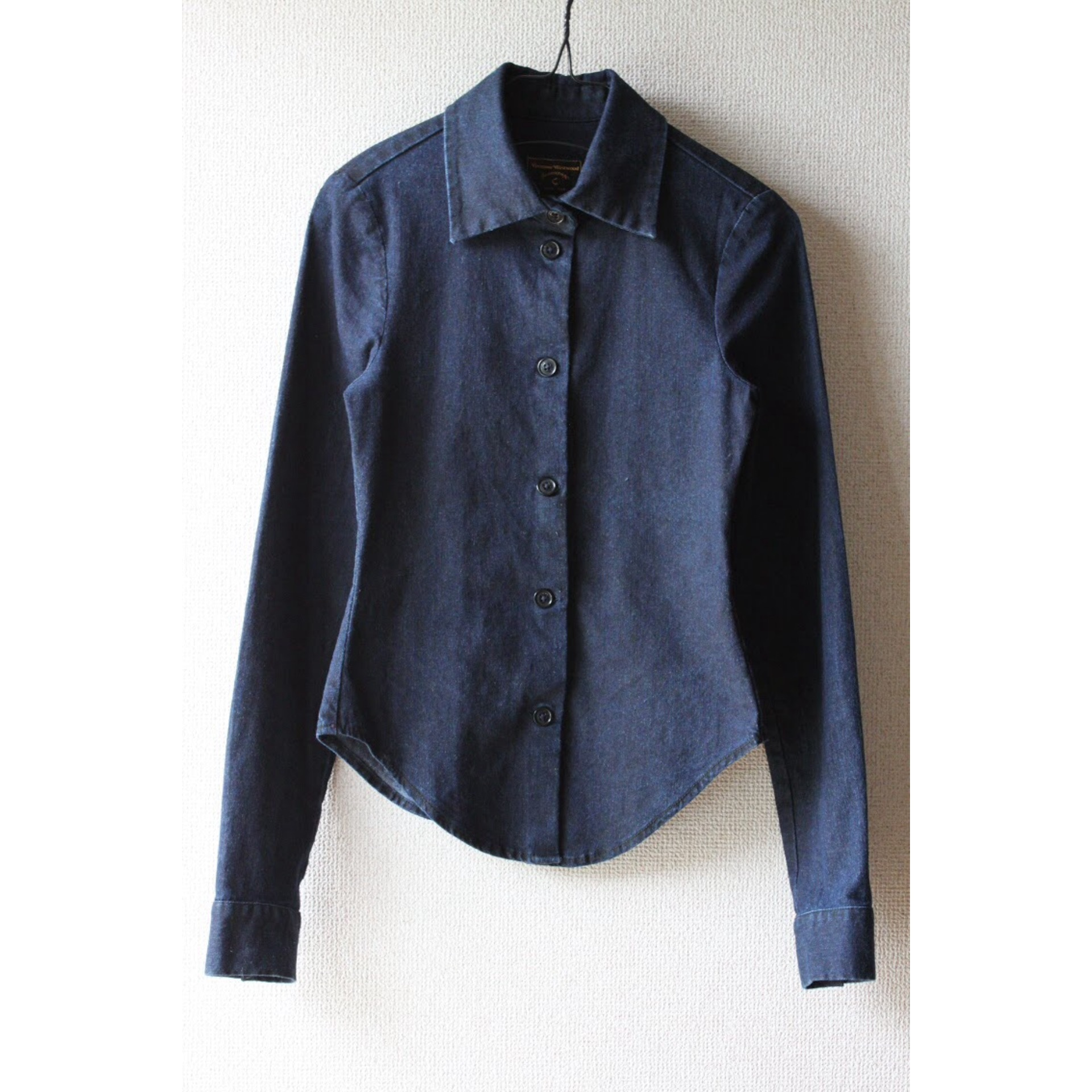 "Tight fit denim shirt by Vivienne Westwood ""Anglomania"""