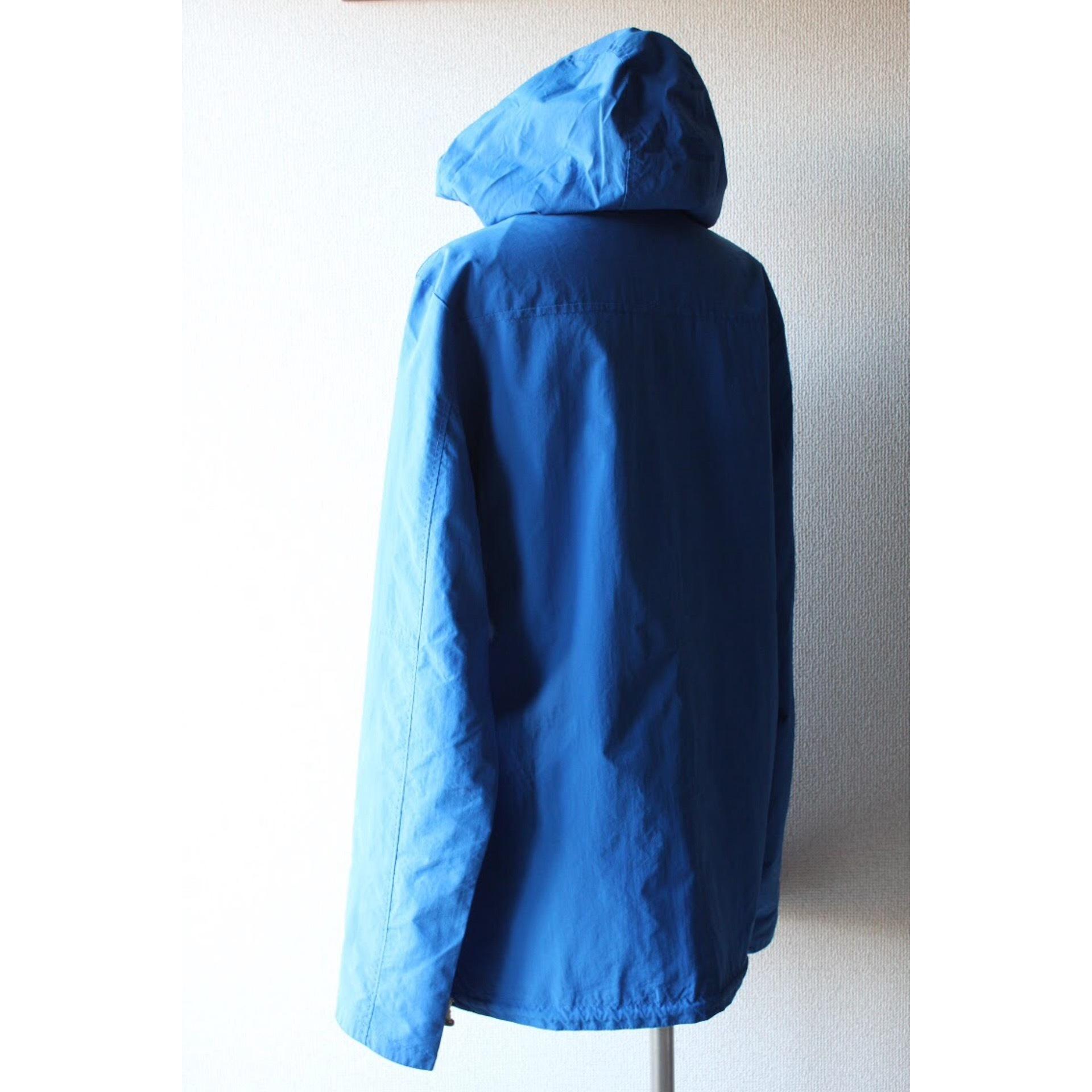 Vintage duffle coat type nylon jacket