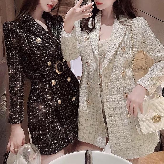 tweed tailored jacket