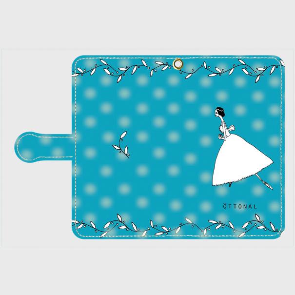 (Android) ウィリー 手帳型スマホケース - 画像1