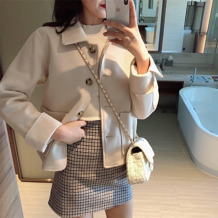 【送料無料】春アウターに ♡ きれいめ カジュアル 大人可愛い シンプル 襟付き ジャケット アウター