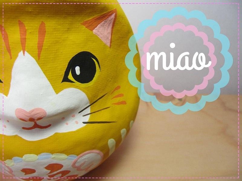 猫だるま miao