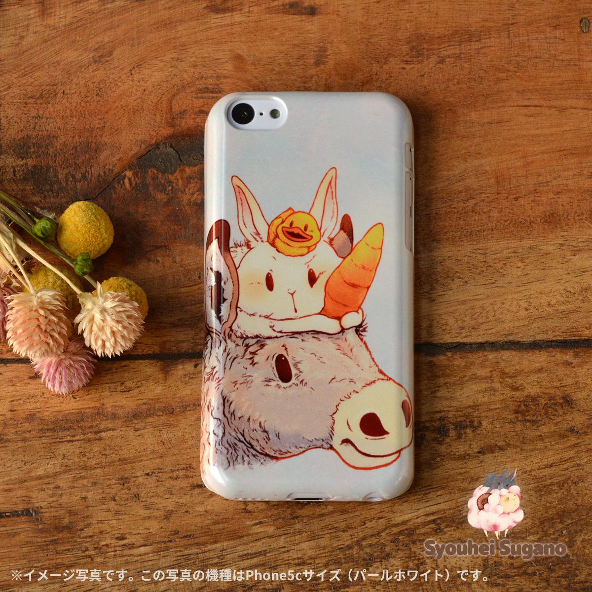 【限定色】アイフォン5c うさぎケース iphone5c ケース うさぎ アイフォン5c ケース うさぎ ユニコーン? /Syouhei Sugano