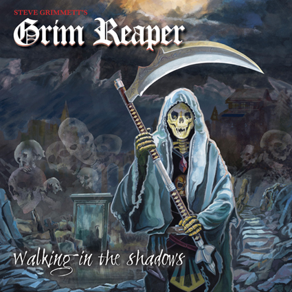 "STEVE GRIMMETT'S GRIM REAPER ""Walking In The Shadows"""