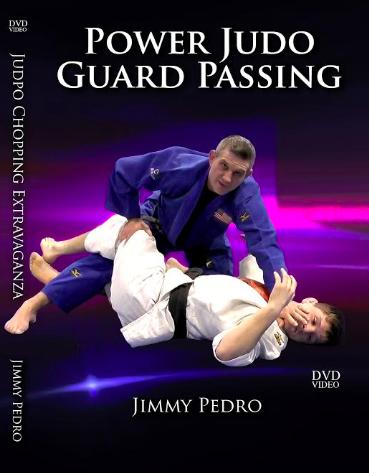 ジミー・ペドロ パワー柔道パスガード ブラジリアン柔術&柔道教則DVD