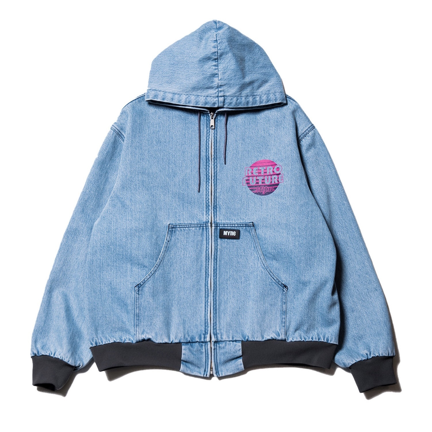RETRO FUTURE denim parka / INDIGO - 画像1