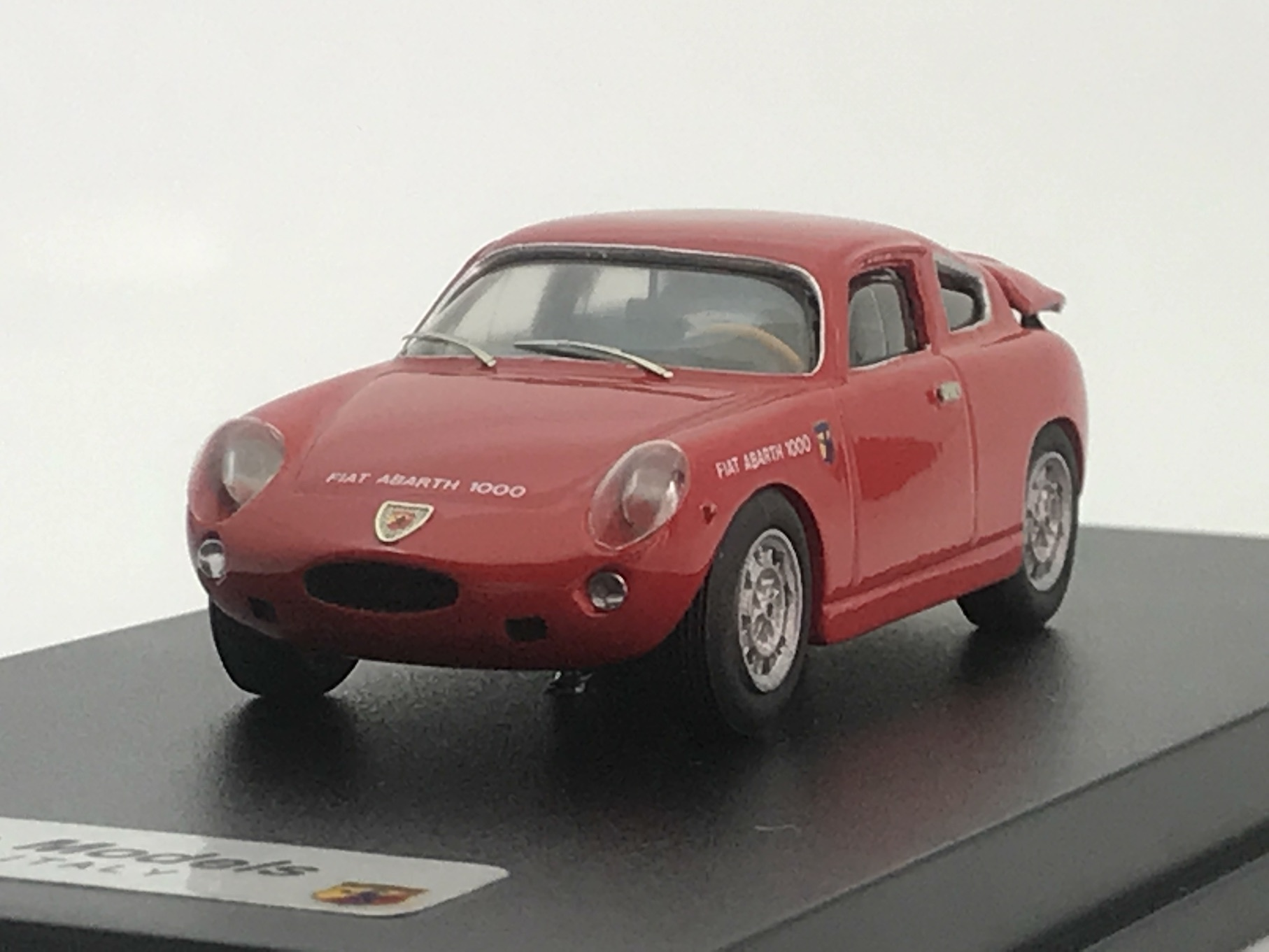 FIAT ABARTH 1000 BIALBERO【1/43】【Car Pin Models】