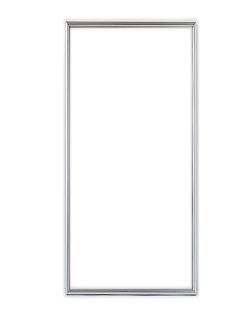 ポスターフレーム 特注サイズ100x40cm シルバー(サイマーワモンアザラシ用)