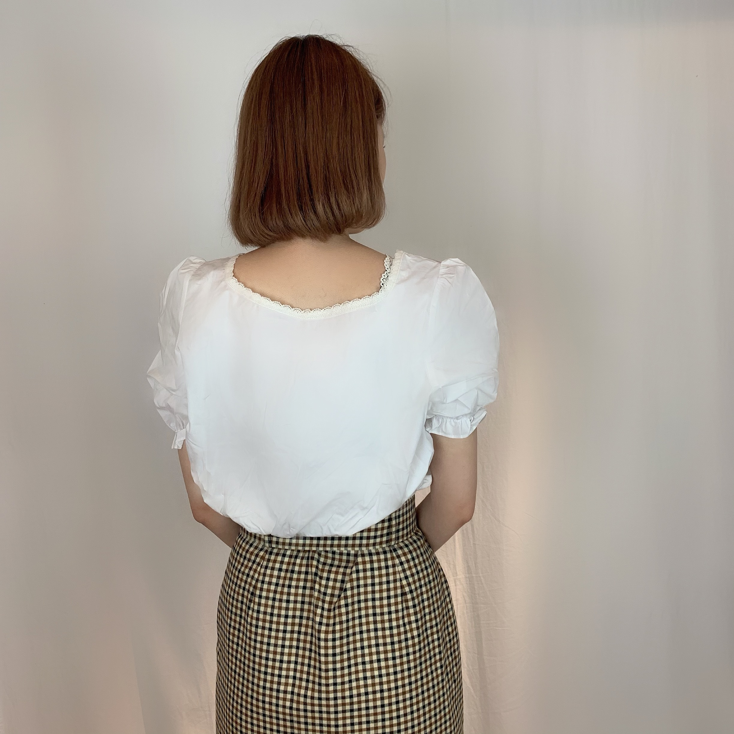 《 NEW 》square neck blouse