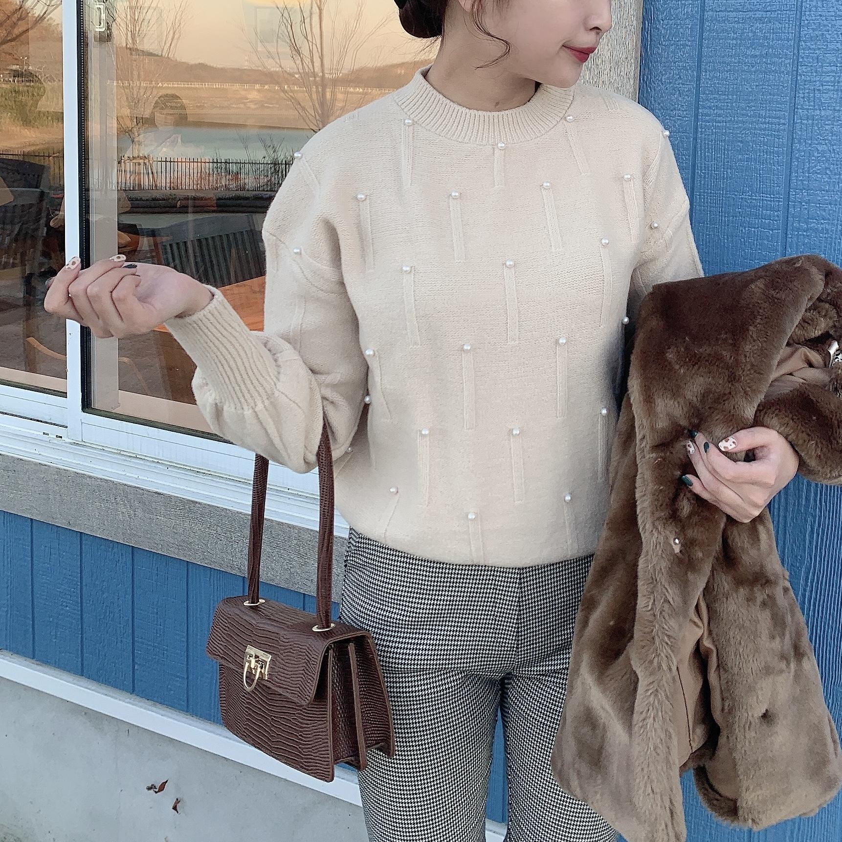 12/18 NEW crocodile shoulder bag