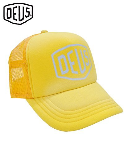 Deus ex Machina (デウスエクスマキナ) SUNBURNT TRUCKER メッシュキャップ レモン DMP87088