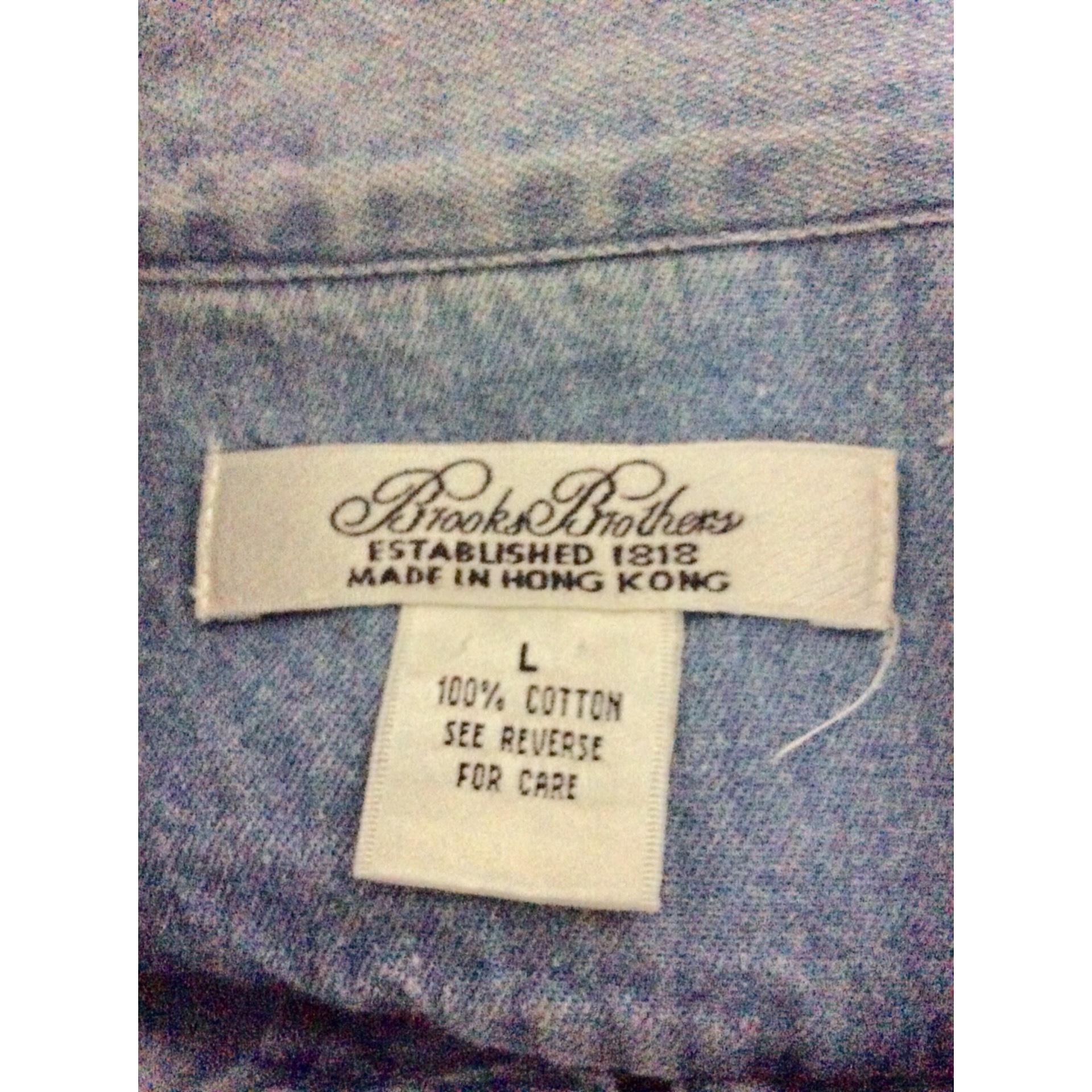 Vintage denim china shirt by Brooks Brothers