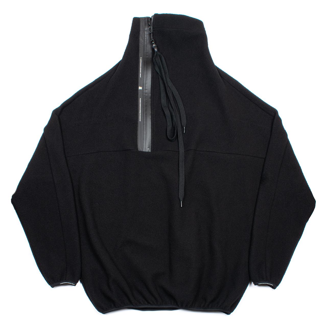720BLM3-BLACK / フリース プルオーバー ジャケット