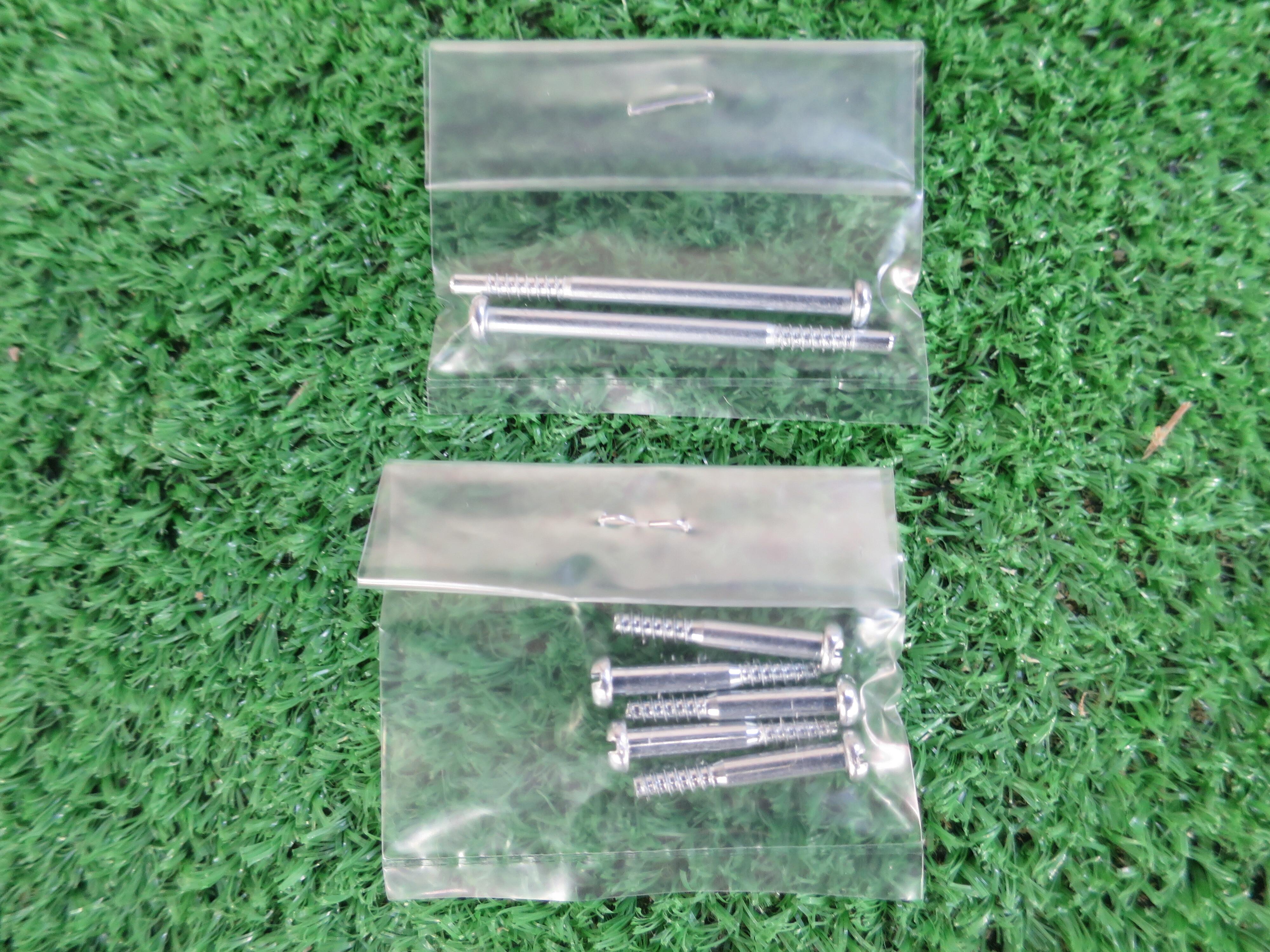 タミヤ WR02(G/CB)GF01等用 バンパー取付ビスセット 3x21mmTP5入+3x43mmTP2入セット