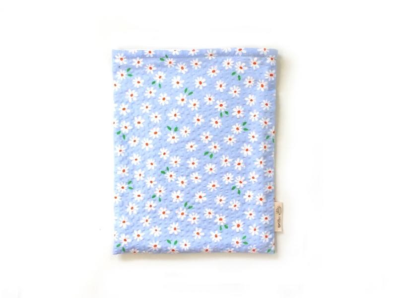 ハリネズミ用寝袋 M(夏用) 綿リップル×スムースニット デイジー 【販売終了】