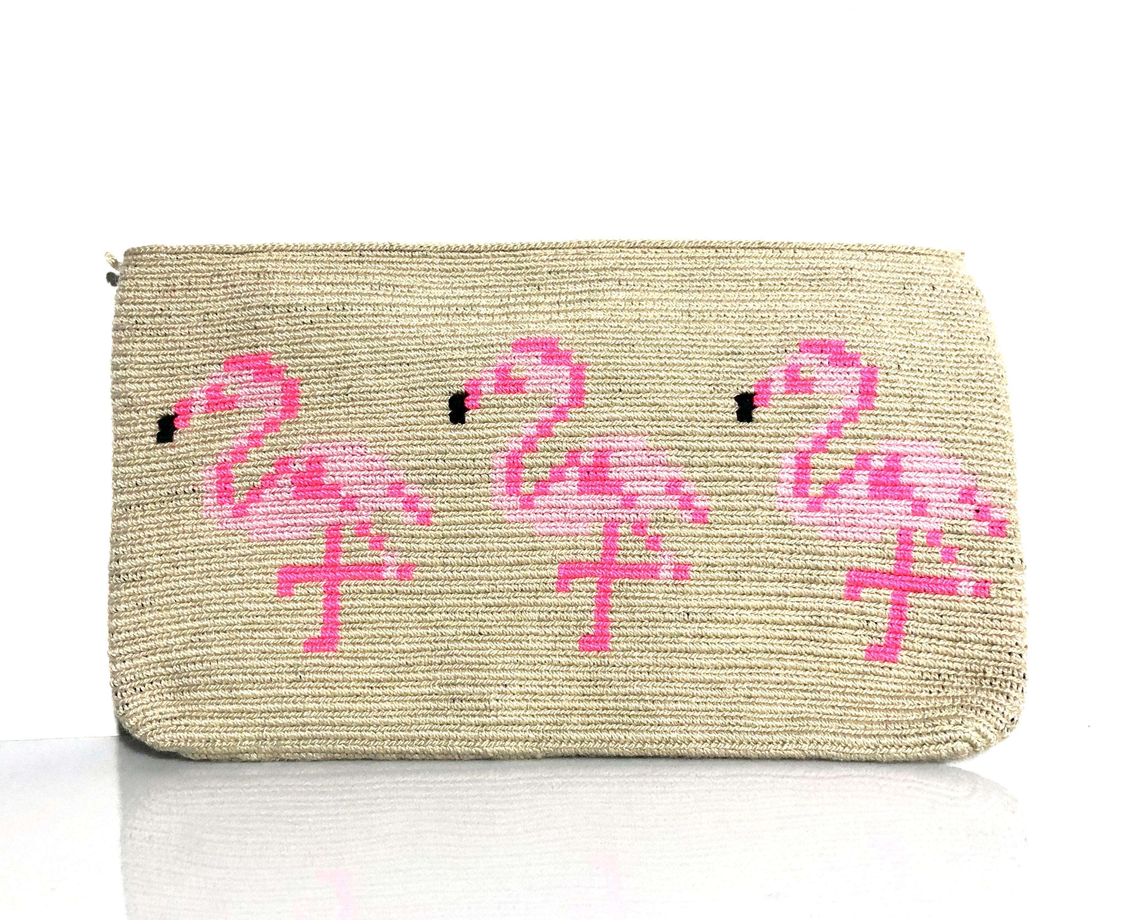 ワユーバッグ(Wayuu bag)ポーチ