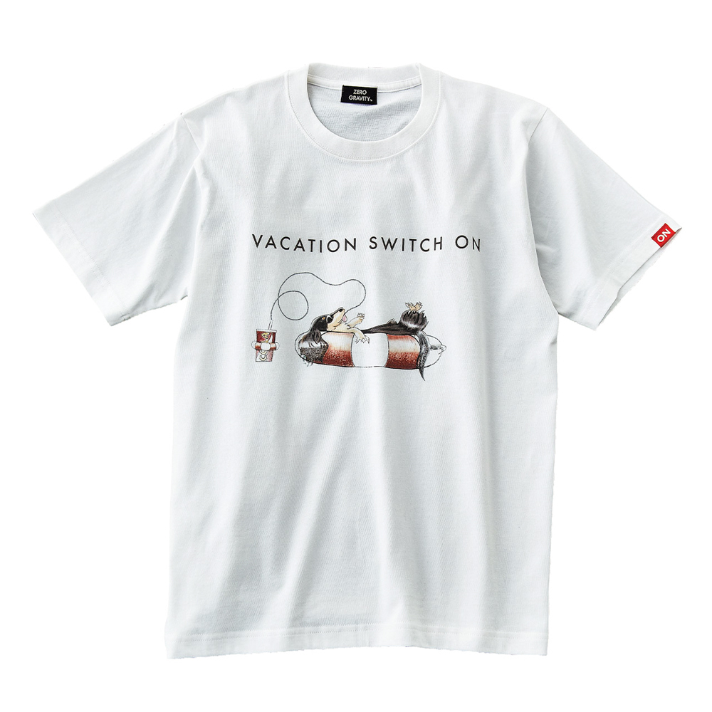 WAVE ON VACATION T-SHIRT [OFF WHITE]