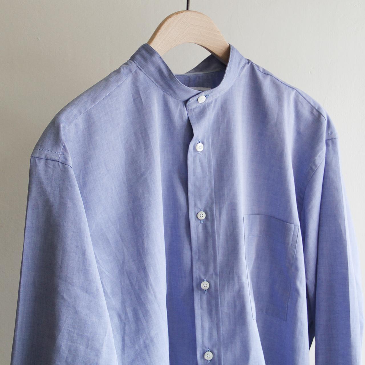 INDIVIDUALIZED SHIRTS【 mens 】Terminal 別注 indigo chambray shirts