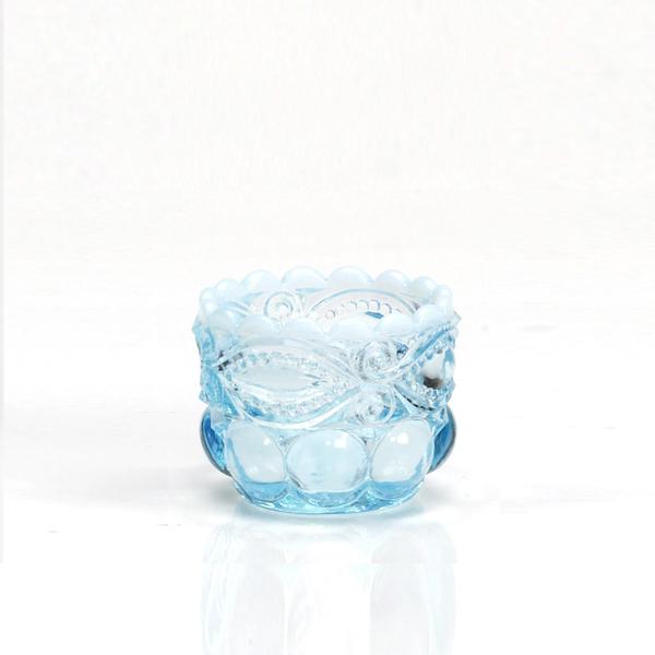 MOSSER GLASSモッサーグラス 塩 ソルト&ペッパー SALT DIP AQUA OPAL 2個 1セット