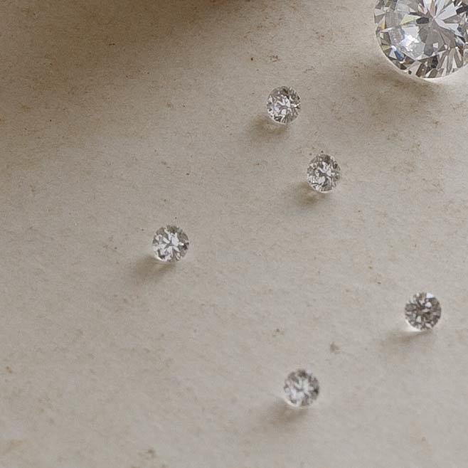 ベビーリング ルフテ用オプション インサイドダイヤモンド(ホワイト)