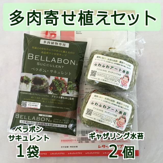 ギャザリング水苔2個&ベラボンサキュレント1袋 セット - 画像1