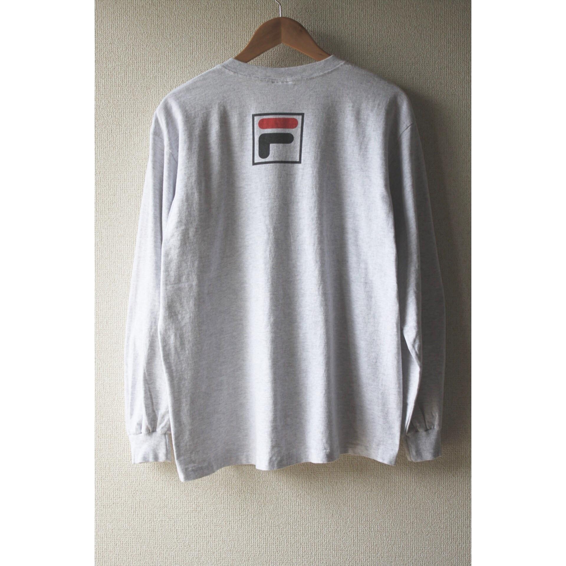 90s FILA long sleeve shirt