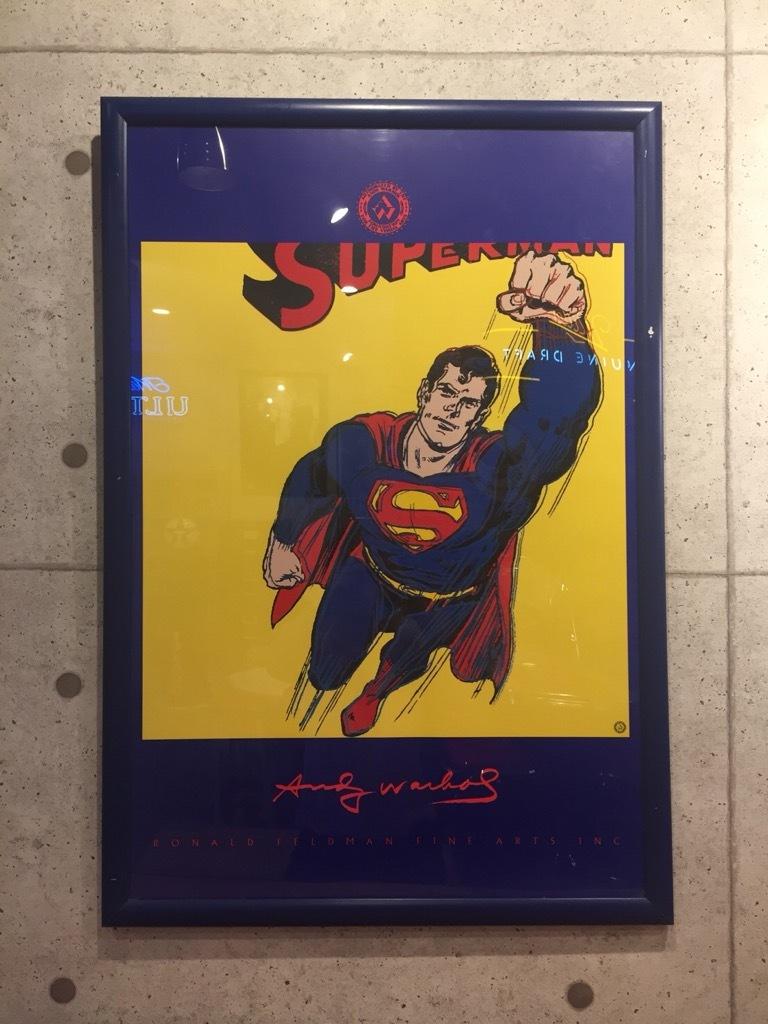 品番0770 スーパーマン アンディーウォーホル作 / Art 011