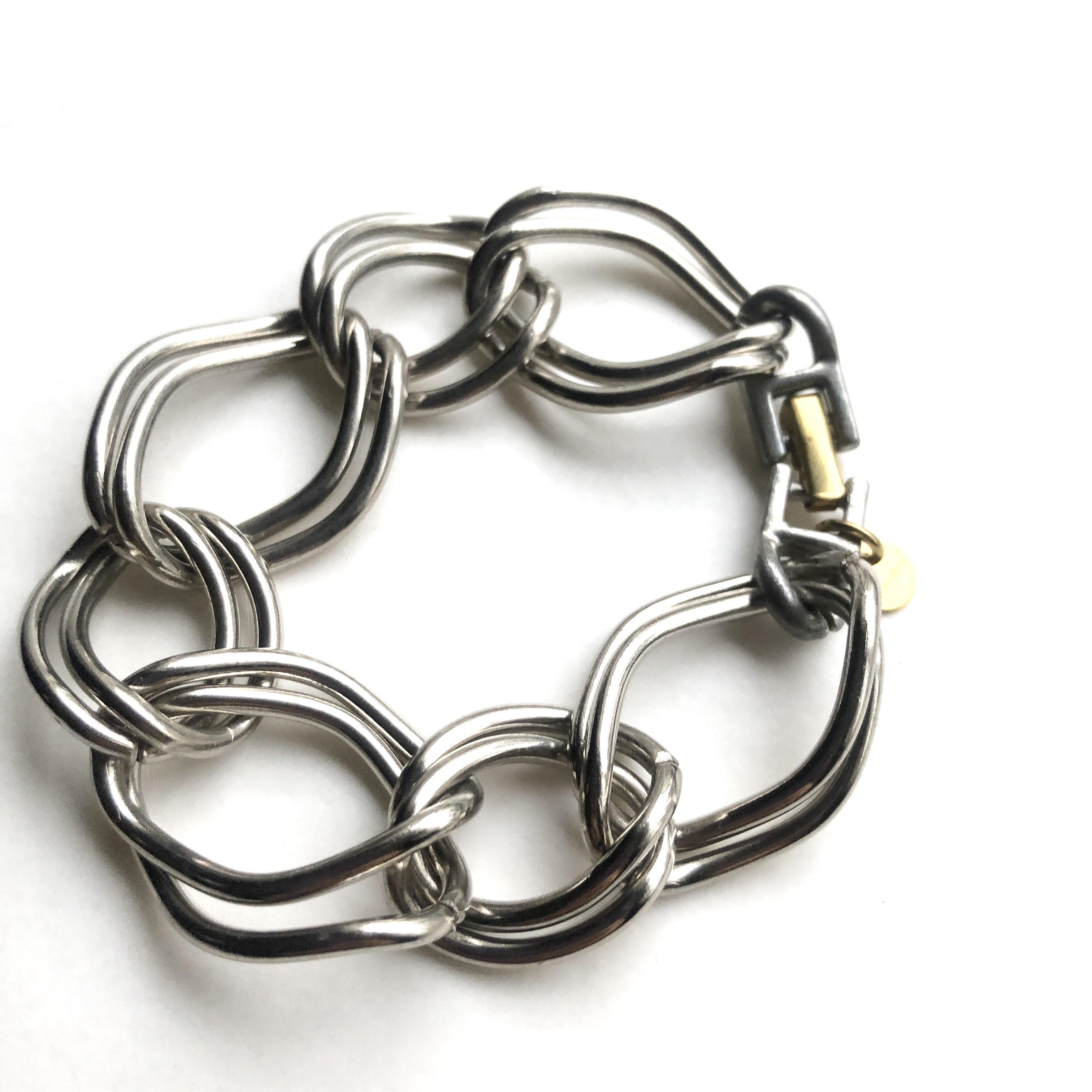 Double chain bracelet BT-011